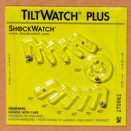 TiltWatch<span class='rtm'>®</span> Plus with Label