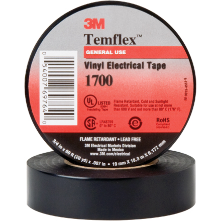 3M<span class='tm'>™</span> 1700 Electrical Tape