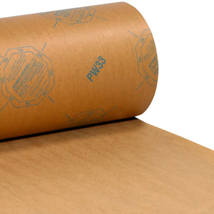 VCI Paper - 30 lb. Waxed Industrial Rolls